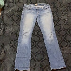 Gap curvy straight jeans. Size 10L